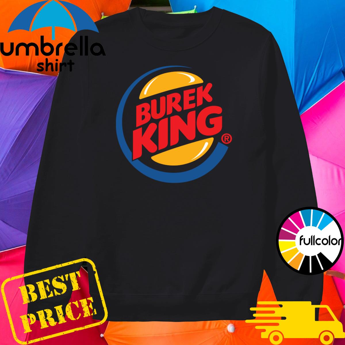 Official Burek King Logo Tee Shirt Sweater