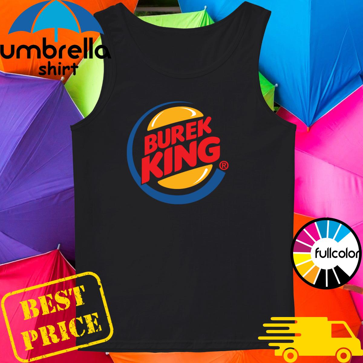 Official Burek King Logo Tee Shirt Tank-top
