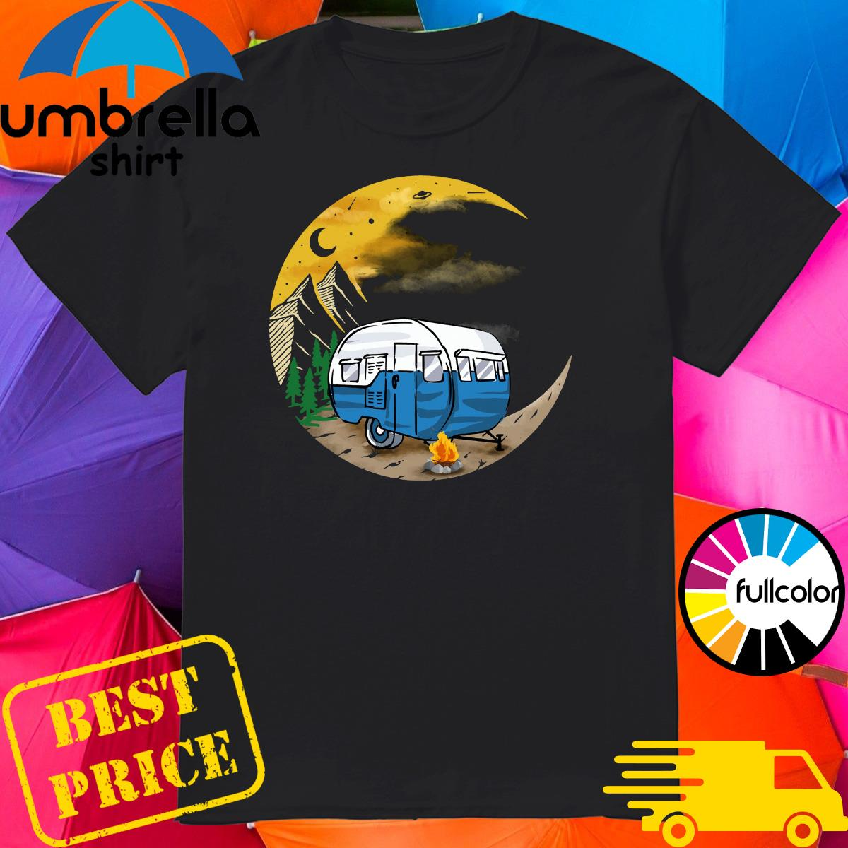 Official Camping To Moon Shirt