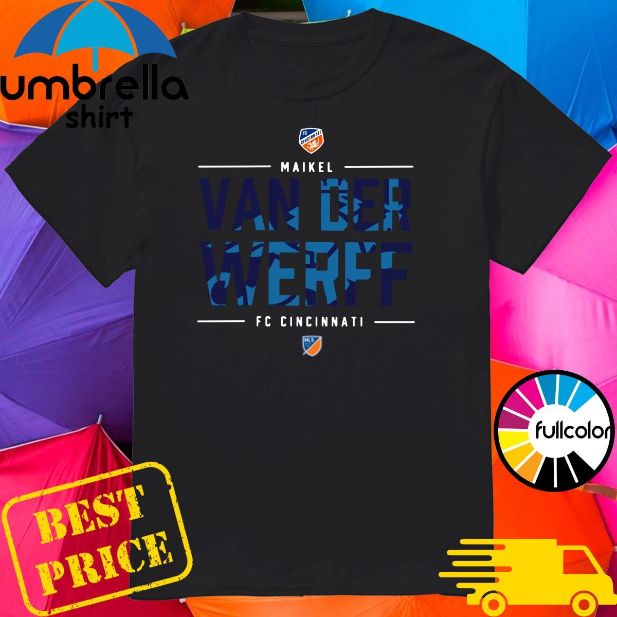 Official Fc Cincinnati Maikel Van Der Werff Shirt