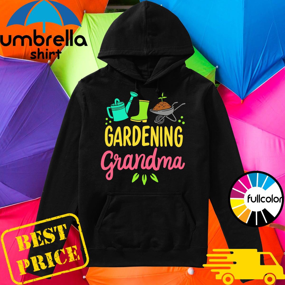 Official Gardening Grandma Shirt Hoodie