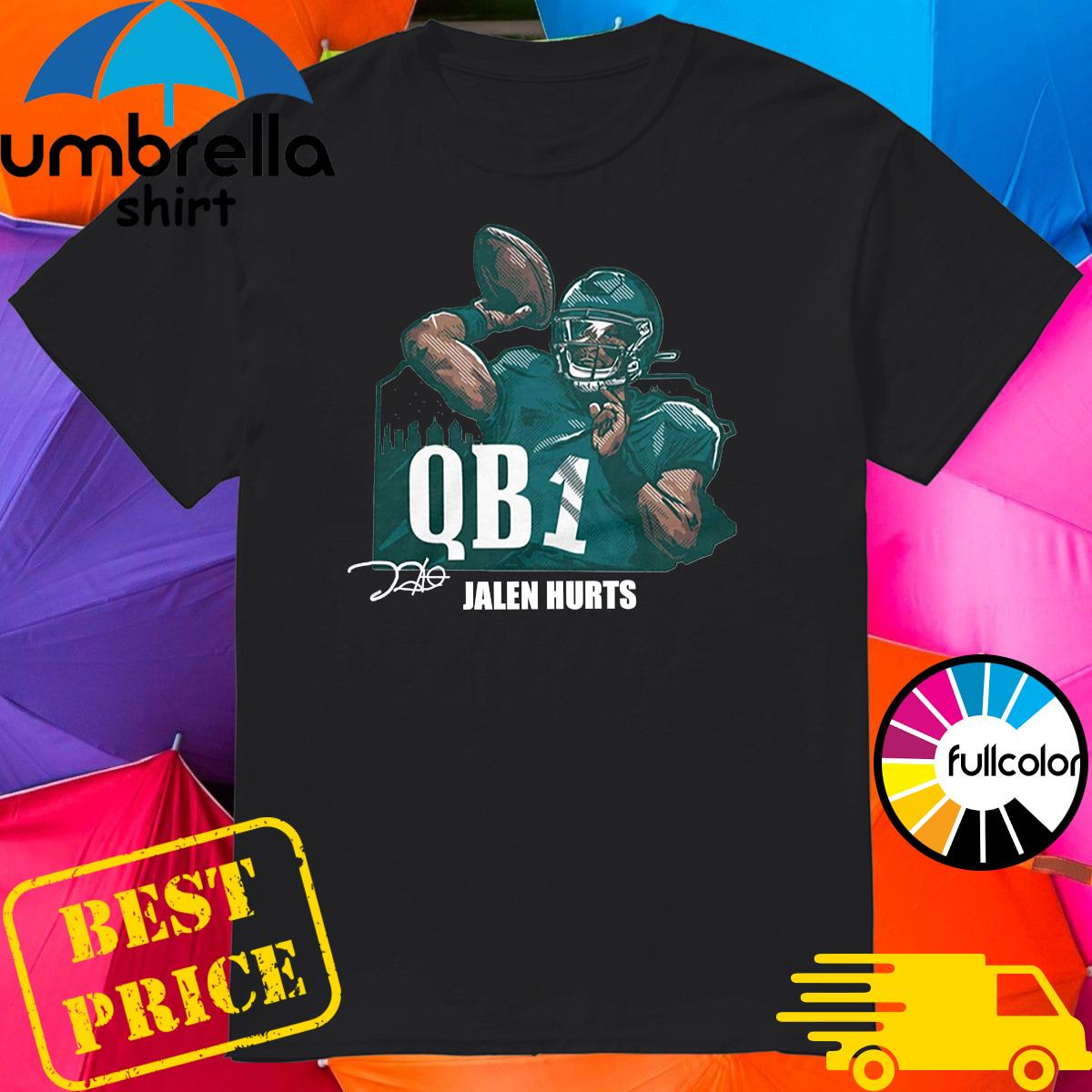 Official Jalen Hurts QB1 Shirt