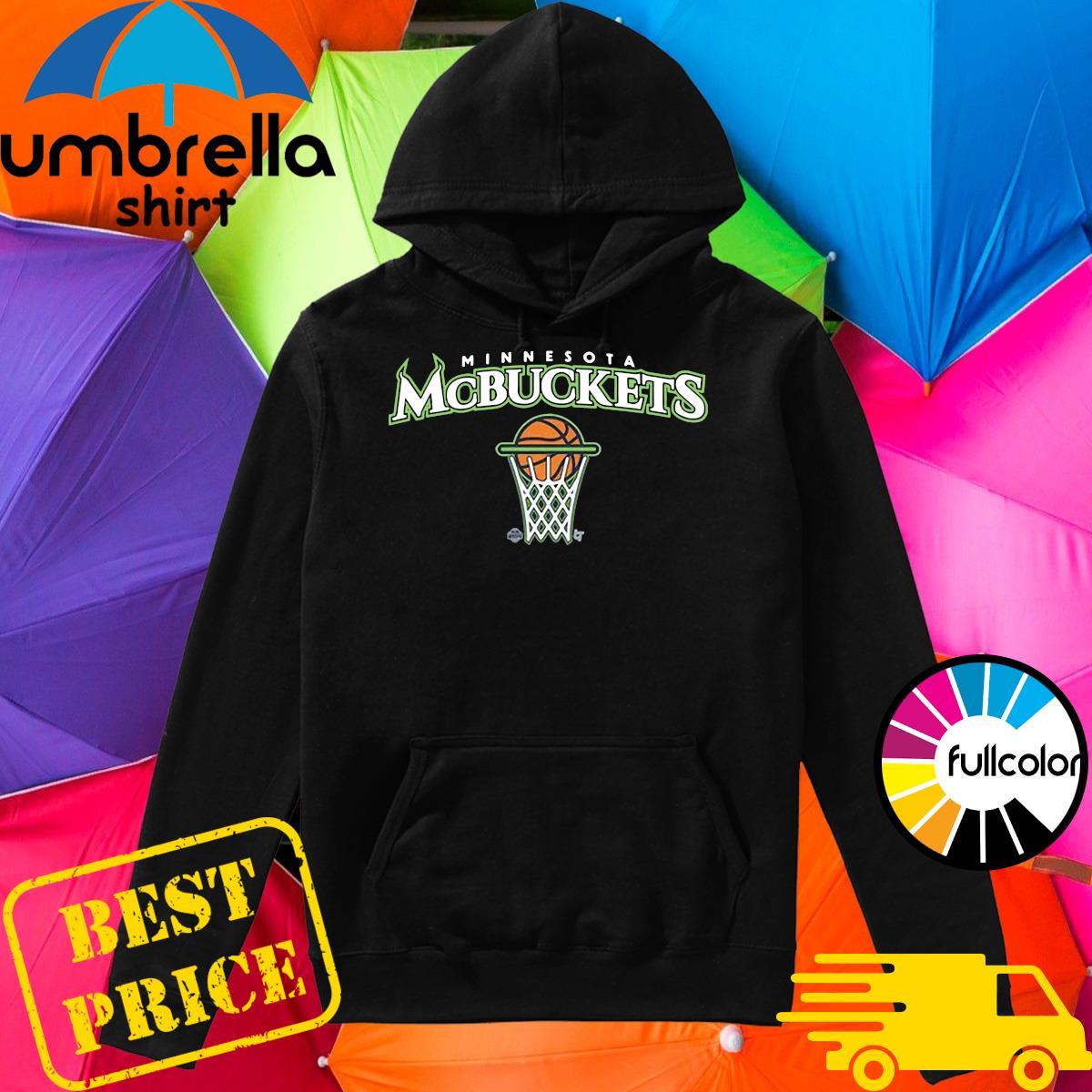 Official Minnesota Mcbuckets Basketball Shirt Hoodie