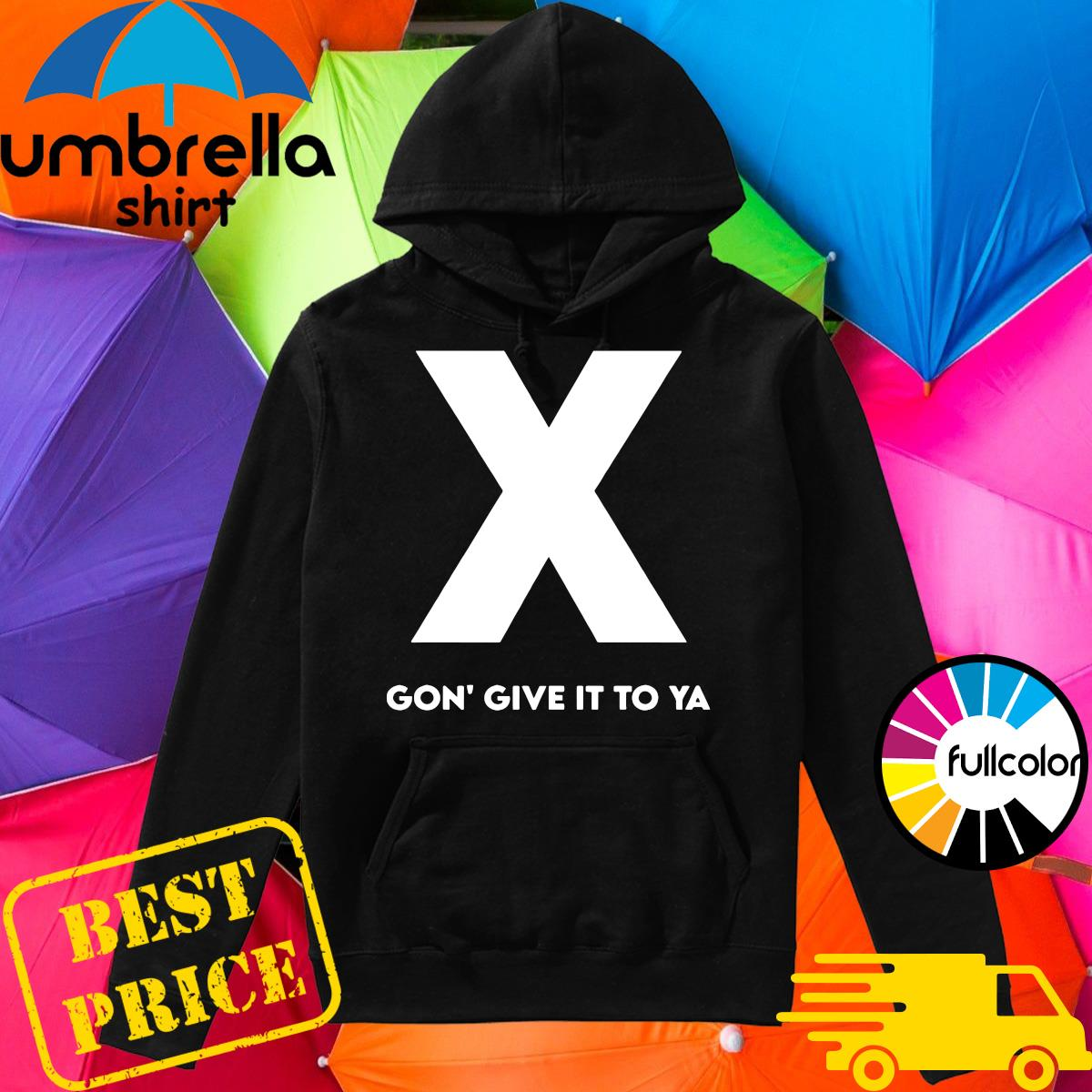 Official RIP DMX X Gon' Give It To Ya Shirt Hoodie