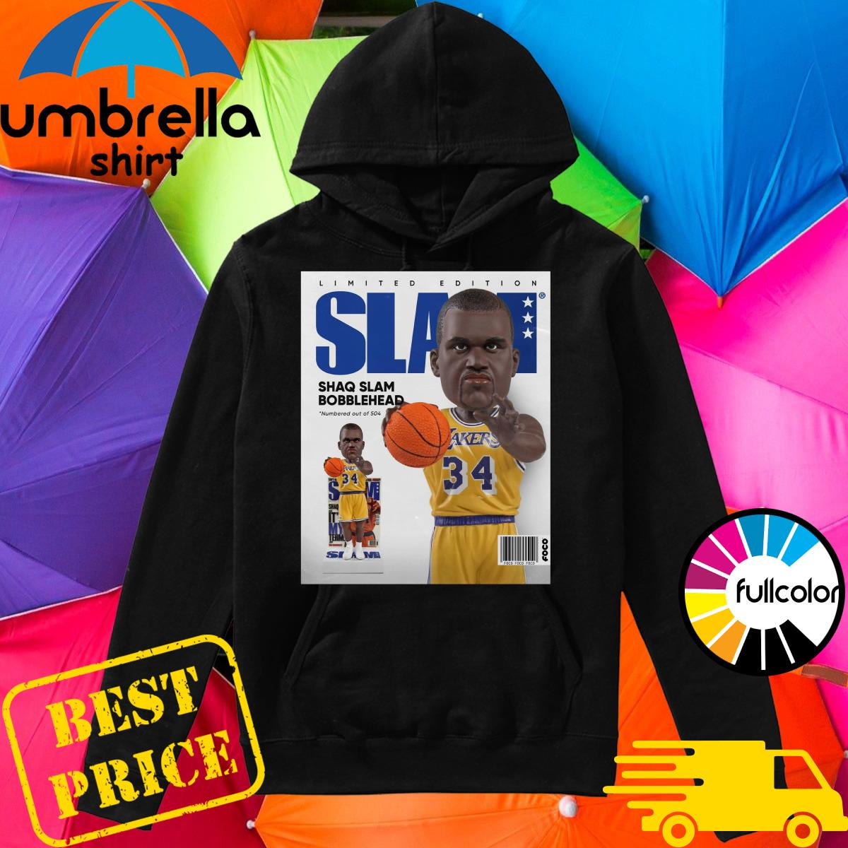 Official SLAM Bobblehead – Shaquille O'Neal Shirt Hoodie