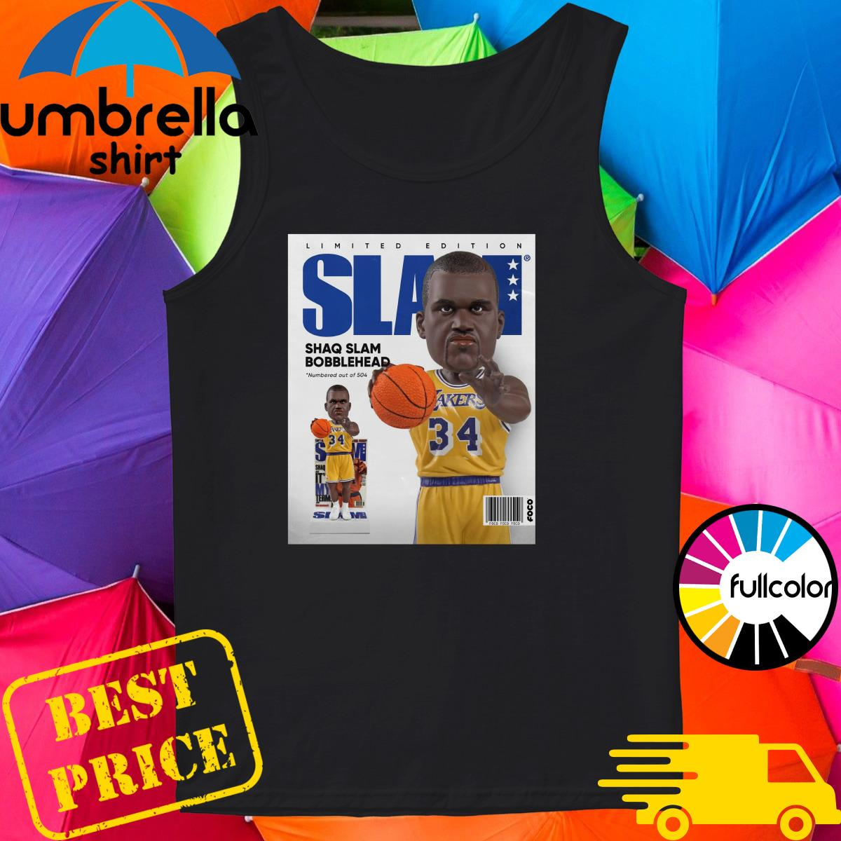 Official SLAM Bobblehead – Shaquille O'Neal Shirt Tank-top