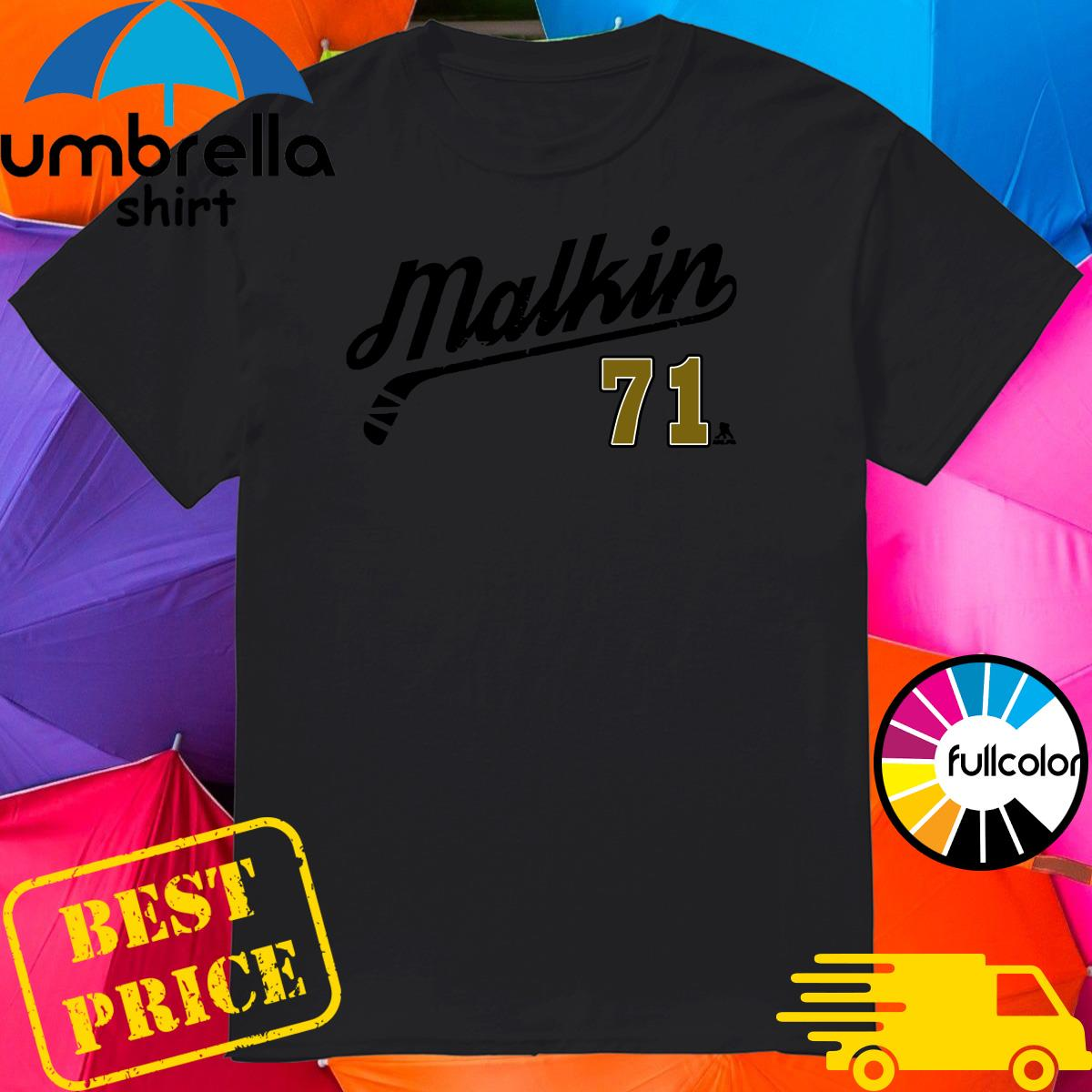 The Evgeni Malkin 71 Number Tee Shirt